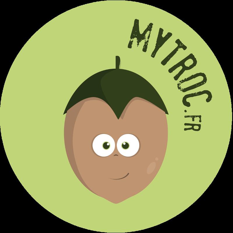 Logo du site internet mytroc.fr Un site de troc et d'échanges sans argent.